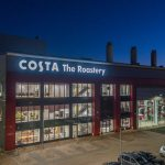 Drone Filming of the Costa Roastery