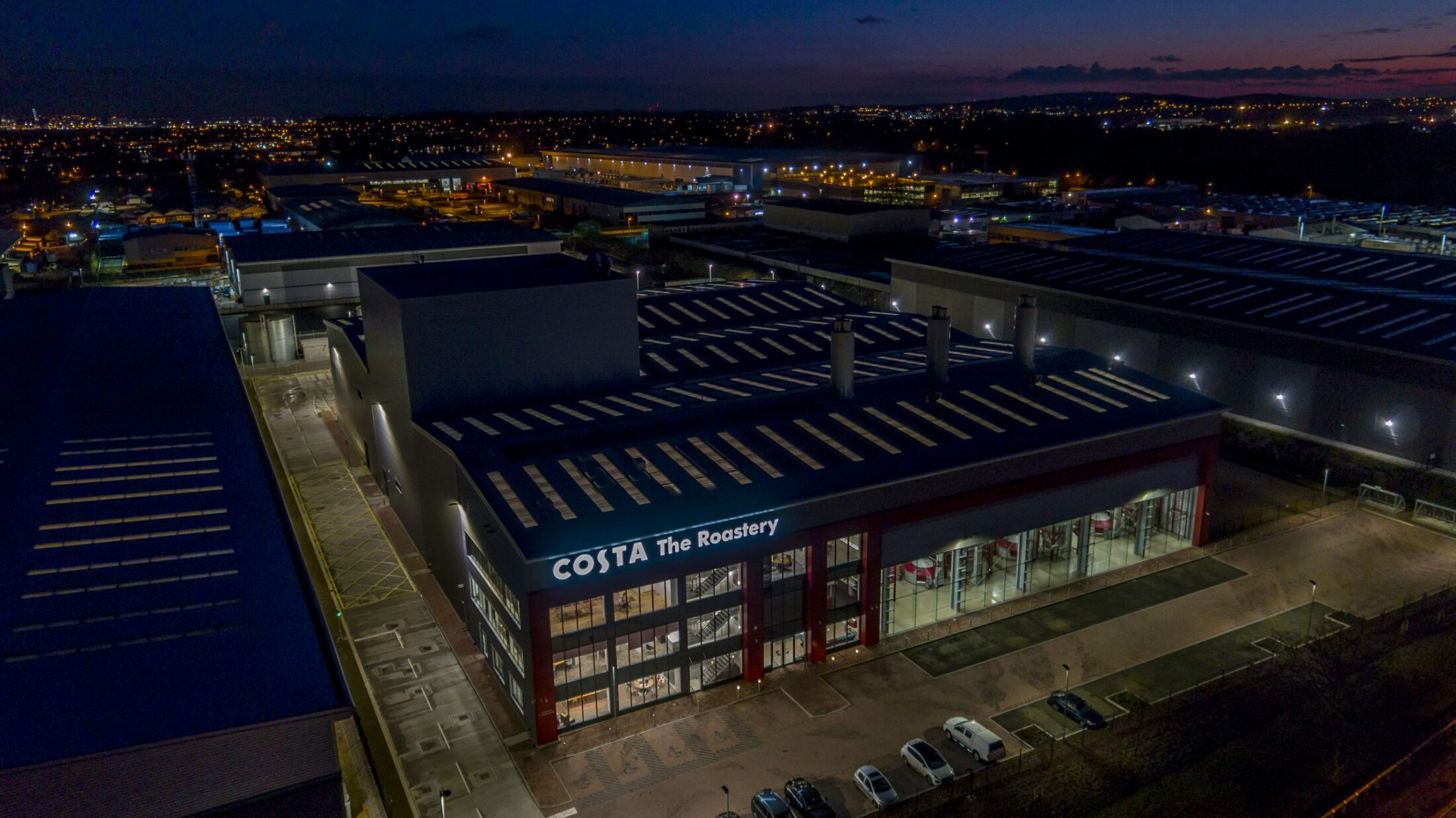 Costa Roastery by Drone