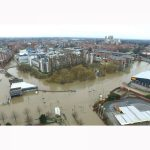 The York Floods of 2015 by drone