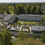 Drone filming at Rudding Park Hotel and Spa