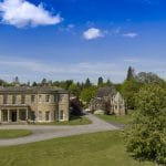 Drone filming at Rudding Park Hotel