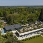 Drone filming and Photography a luxury health spa