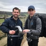 Springtime on the farm filming for CH5 TV