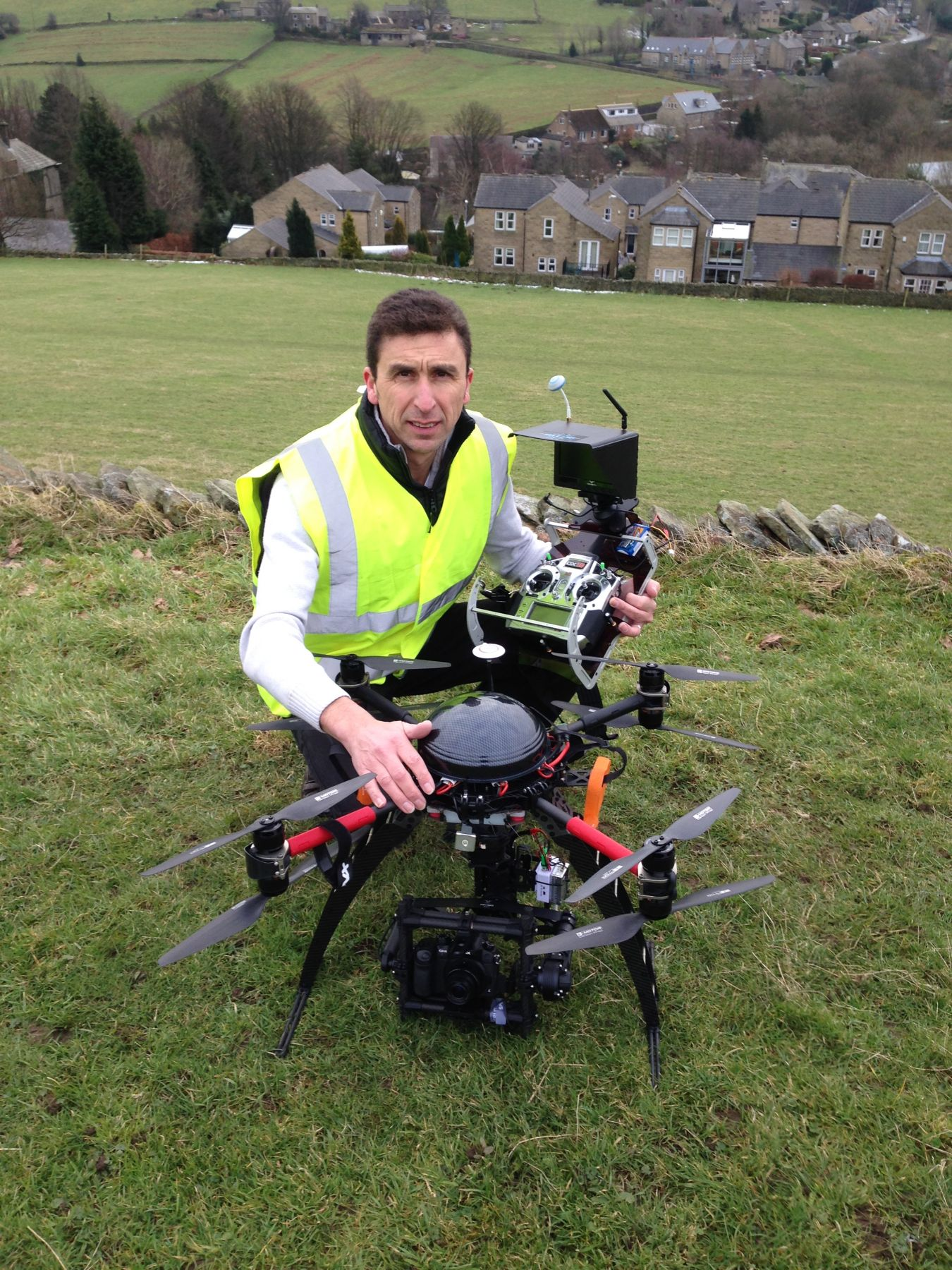 Phil Fearnley Drone pilot on BBC1 DIY SOS