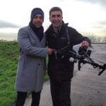 ITV Weather presenter Alex Bersiford and Phil Fearnley