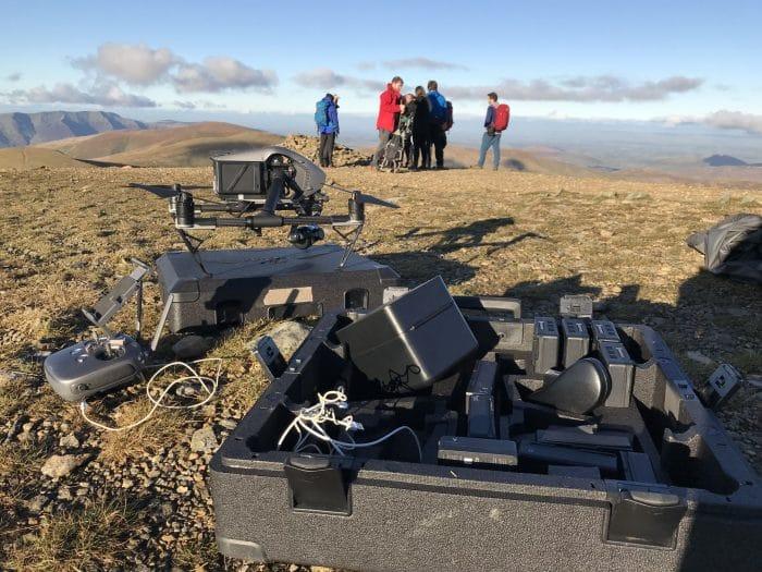The Summit, Helvellyn for ITV's 100 Walks