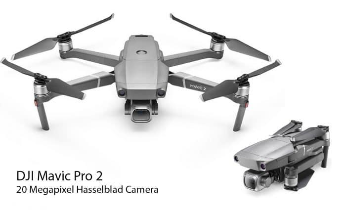 DJI Mavic Pro 2 professional drone filming