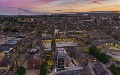 Sunset Over the Piece Hall