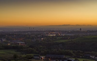 Sunset filmed by Drone Photography