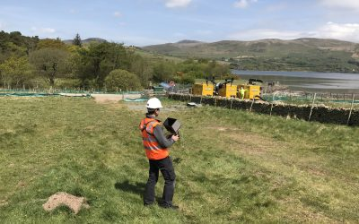 Drone survey in the Lake District