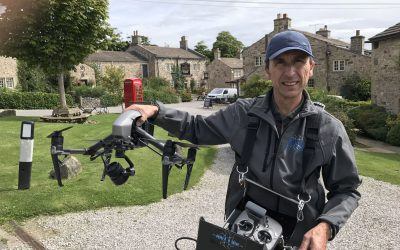 Phil Fearnley, drone pilot, Emmerdale, ITV