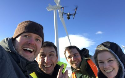 Drones and Wind Turbines